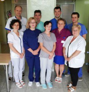Personel Pododdziału Chirurgii Urazowo-Ortopedycznej