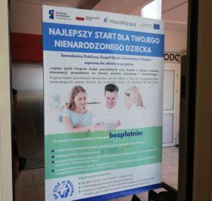 Badania prenatalne - plakat