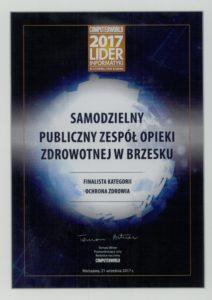 Finalista konkursu Lider Informatyki