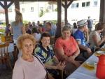 Uczestnicy Dziennego Domu Opieki Medycznej wzięli udział w plenerze malarskim