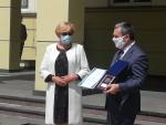 Prezes Grupy Azoty SA przekazał brzeskiemu szpitalowi blisko 400 tys. zł