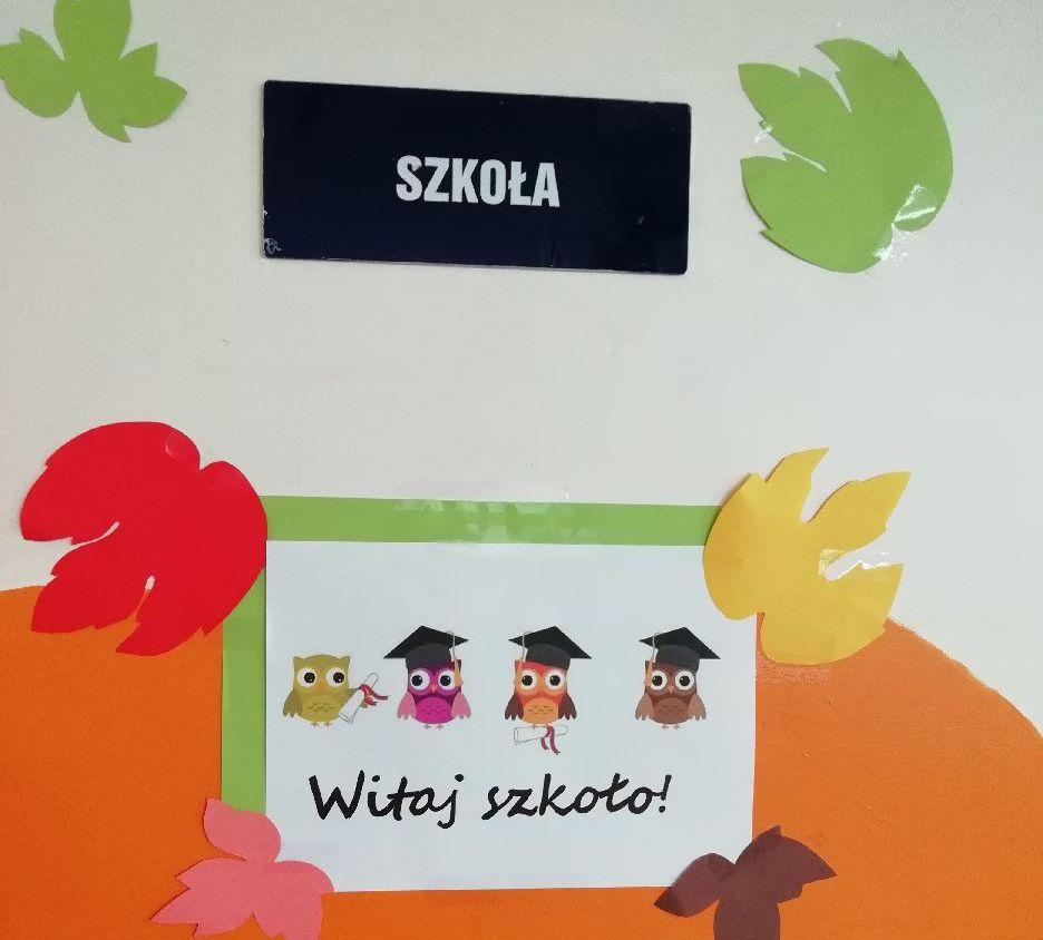 Sala szkolna w oddziale dziecięcym