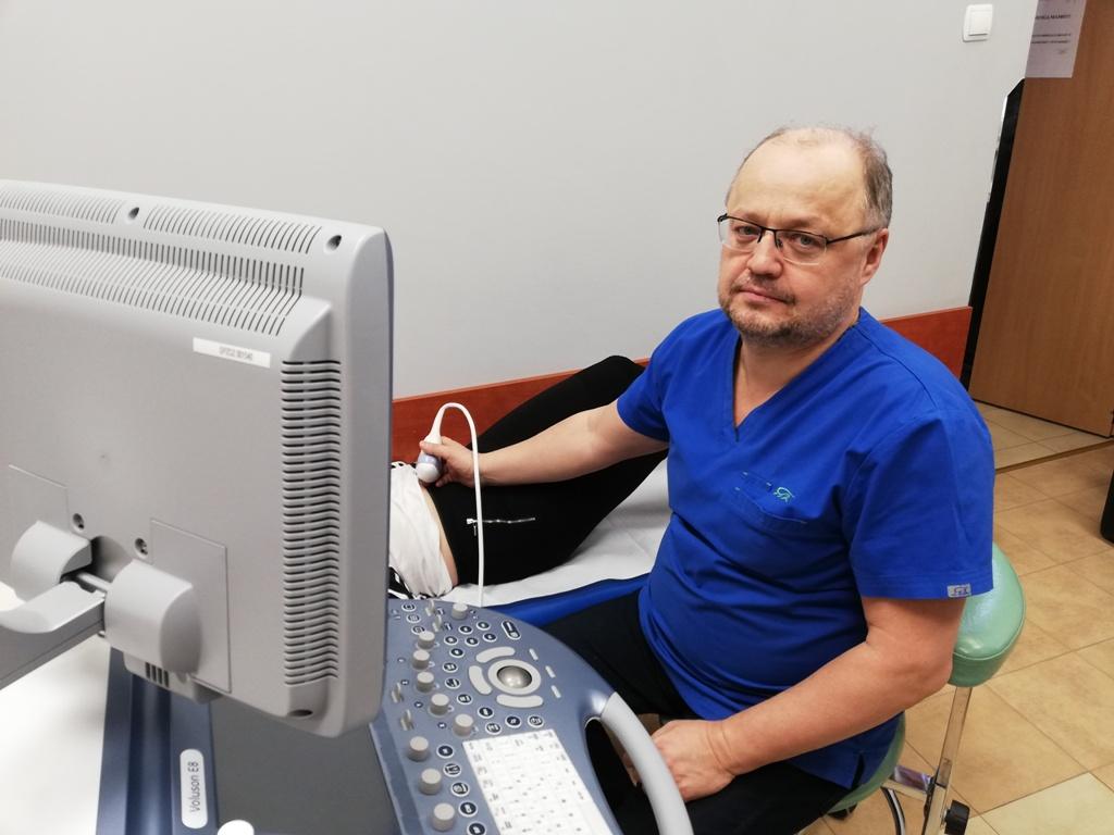 Badania prenatalne wykonuje dr n. med. Artur Czekański