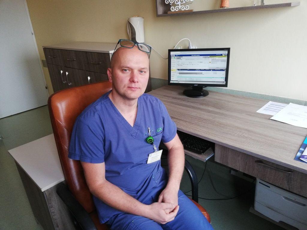 Mariusz Majewski - Lekarz Kierujący Oddziałem